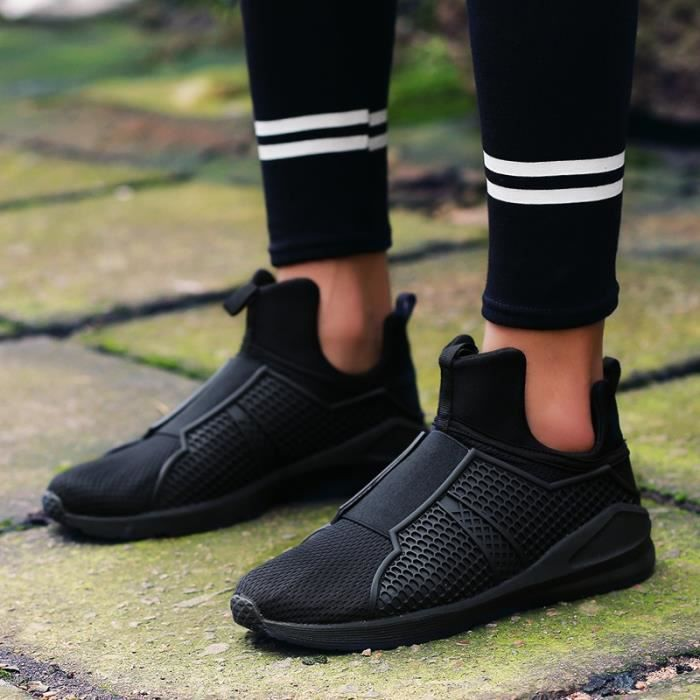 Mode hommes Hommes Chaussures Mesh Respirables Casual Sport Chaussures pour rouge 7 Slip On Iwgnp1F