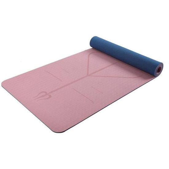 Ryoizen Tapis de Yoga Gym et Fitness 60x25x1.5cm Tapis Gym Tapis de Sport Tapis Yoga Parfait pour Sport au Sol Tapis Yoga Antid/érapant et Anti-Transpiration