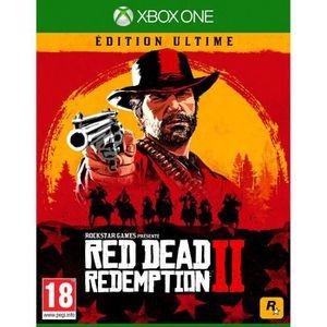 JEU XBOX ONE NOUVEAUTÉ Red Dead Redemption 2 Édition Ultime Jeu Xbox One