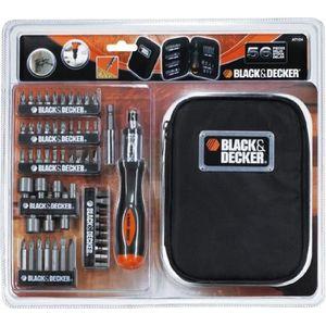 TOURNEVIS BLACK & DECKER A7104-XJ Coffret de tournevis à cli