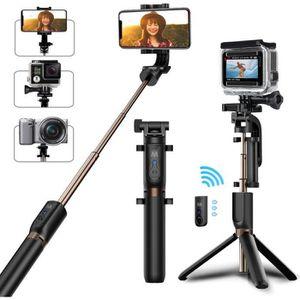 PERCHE - CANNE SELFIE Mellifluous Perche Selfie Trépied Bluetooth avec T