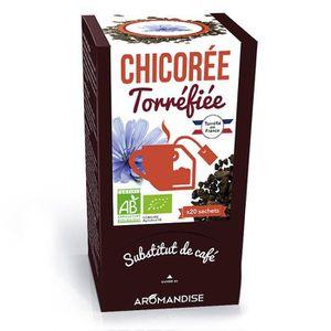 Chicorée Aromandise - Racines de chicorée torréfiées - 20 s