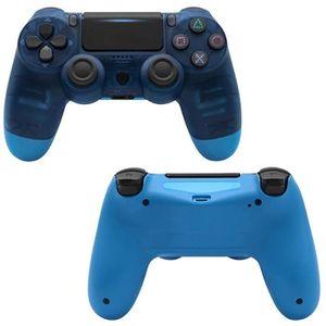 MANETTE JEUX VIDÉO PS4 Manette Bluetooth sans fil PS4 DualShock V2 Bl