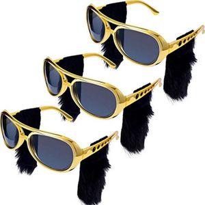 Lunettes de Soleil Elvis inspiré de grands cadres Noir Fumée Lentilles NEUF