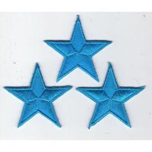 topt mili ecusson hiboux Chouette Lot de 3 argent/é thermocollant 7x4cm patche Badge