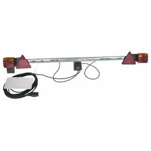 FEUX DE REMORQUE Rampe d'éclairage complète réglable 1400- 2100 mm