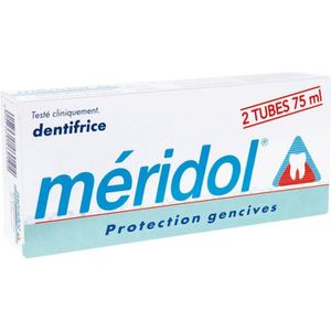 DENTIFRICE Méridol Dentifrice Lot de 2 x 75 ml