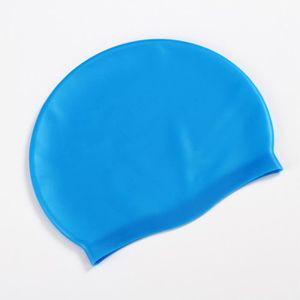 Slazenger Unisexe Bonnet De Natation Silicone Élastique Piscine Plage Sport