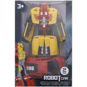 ROBOT - ANIMAL ANIMÉ 2 VOITURE A TRANSFORMER EN ROBOT