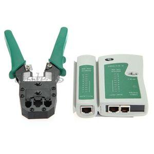 BSIDE FWT81 Testeur de c/âble r/éseau RJ11 RJ45 Traqueur de fil de t/él/éphone LAN Testeur de ligne avec connecteur modulaire