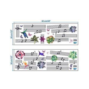 OBJET DÉCORATION MURALE Bricolage maternelle musicale Note des oiseaux Env