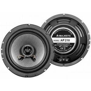 HAUT PARLEUR VOITURE New Majestic AP-210, 1-voie, 200 W, 100 W, 4 Ohm,