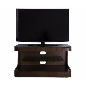 MEUBLE TV Winchester Meuble TV Noyer - Pour écrans jusqu'à 4