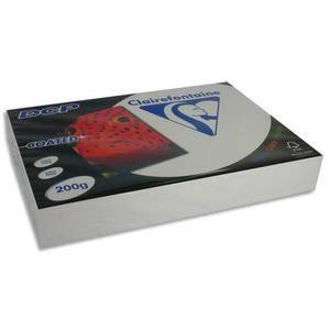 PAPIER IMPRIMANTE CLAIREFONTAINE Ramette 250 feuilles A4 200g DCP…