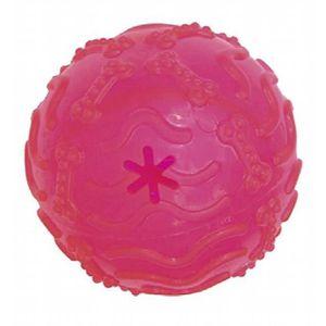 JOUET CROCI Cvr Treat caoutchouc Toy Fluo Ball, 10,5 cm