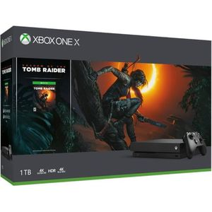 CONSOLE XBOX ONE Xbox One X 1To Shadow of the Tomb Raider