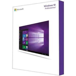 SYSTÈME D'EXPLOITATION Windows 10 Professionnel (version complète)