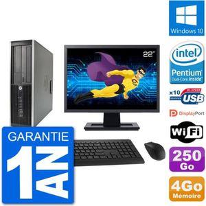 UNITÉ CENTRALE + ÉCRAN PC HP Compaq 6200 Pro SFF Ecran 22