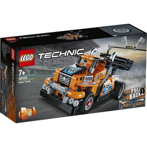 ASSEMBLAGE CONSTRUCTION LEGO® Technic 42104 - Le camion de course