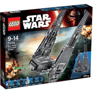 ASSEMBLAGE CONSTRUCTION LEGO® Star Wars 75104 Le Vaisseau de Kylo Ren Comm