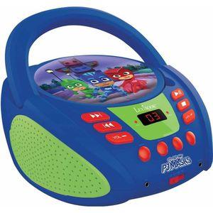 RADIO CD ENFANT LEXIBOOK - PYJAMASQUES -  Lecteur CD & Radio Enfan