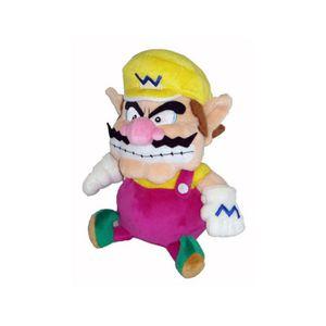 PELUCHE Nintendo - Peluche Mario Bros 24cm Wario