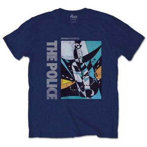 T-SHIRT T-shirt The Police Men's Tee: Message in a Bottle