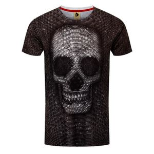 T-SHIRT Monkey Business T-Shirt Snake Skull Homme
