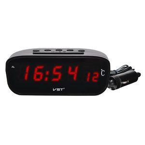 HORLOGE - PENDULE NEUFU 2 in 1 LED Horloge électronique Thermomètre