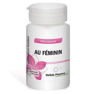 MÉNOPAUSE - ANDROPAUSE Au féminin NETLAB PHARMA - Pilulier 60 gélules - C