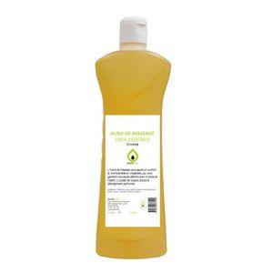 HUILE - LAIT MASSAGE HUILE DE MASSAGE 100% végétale parfumée, ORIENTALE