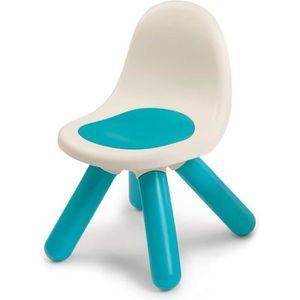 CHAISE - TABOURET BÉBÉ SMOBY - Kid Chaise Intérieure / Extérieure Bleue