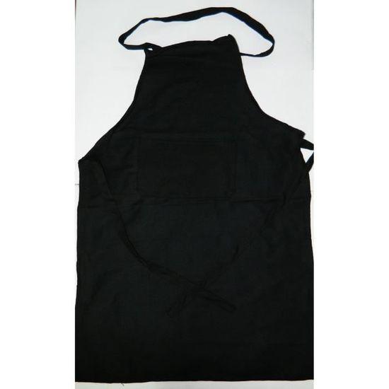 6 X Tablier de cuisine /à bavette bordeaux bistrot restaurant