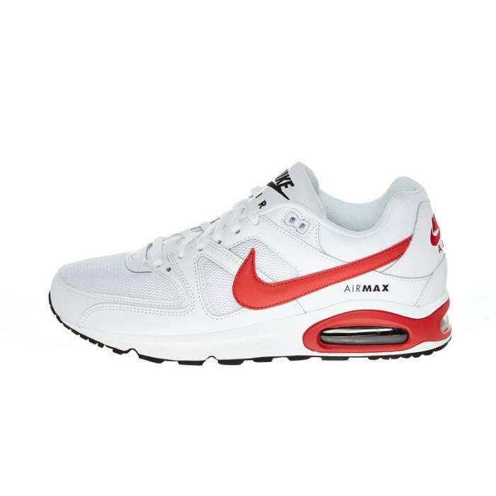 air max blanche et rouge
