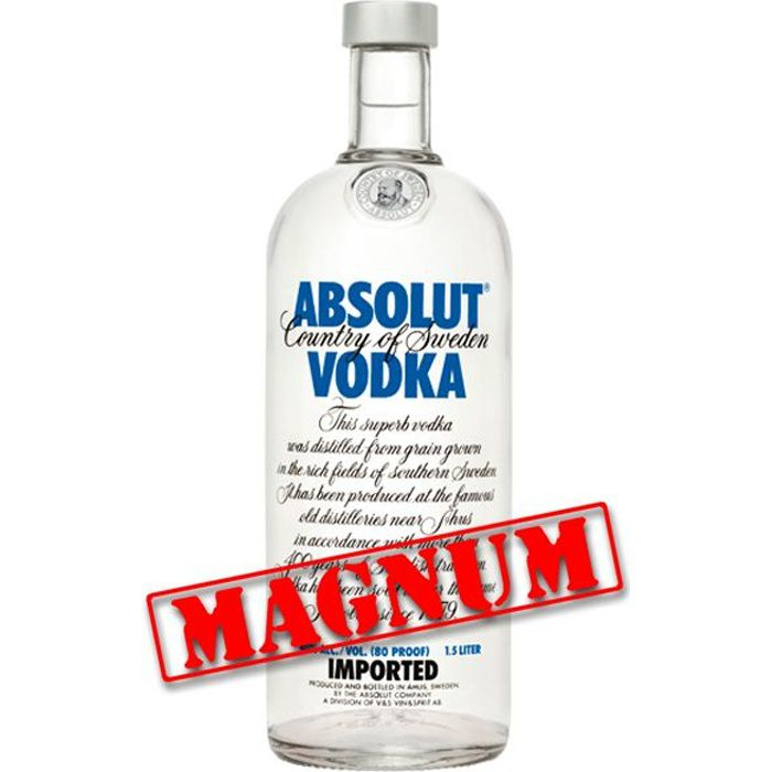 Absolut Vodka Magnum 1.5L