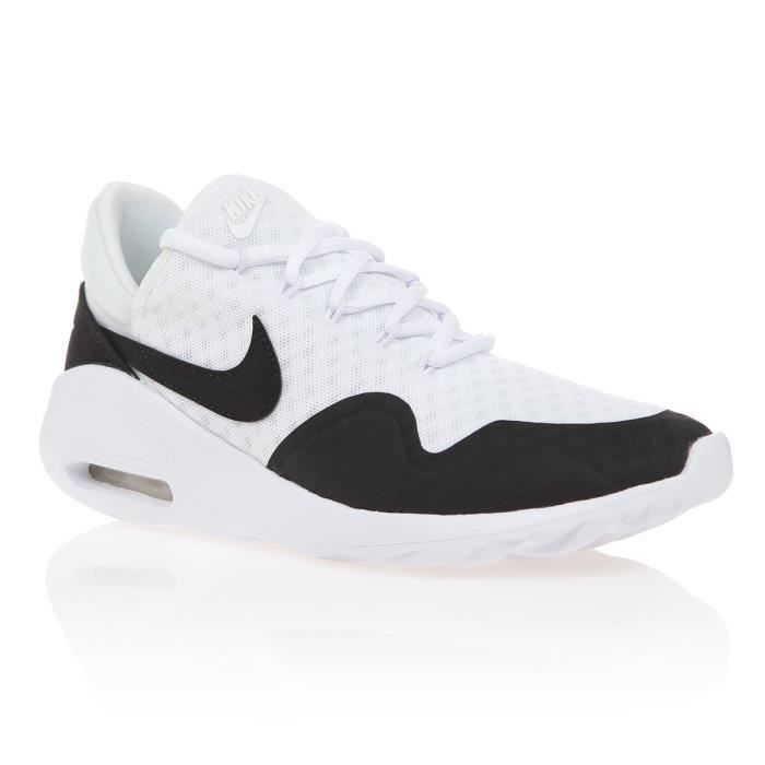 preview of nice shoes look out for NIKE Baskets Air Max Sasha - Femme - Blanc et noir - Achat / Vente ...