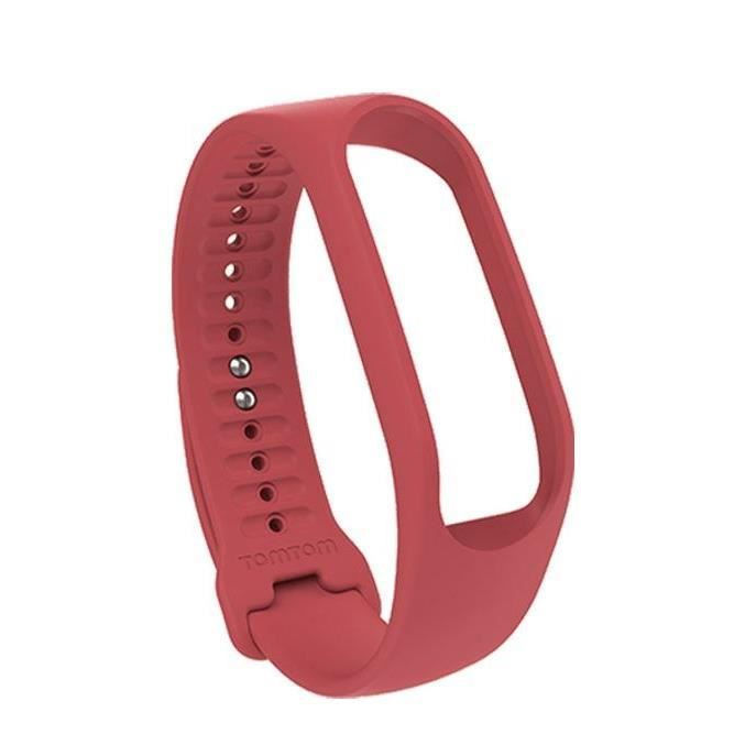TOMTOM Bracelet Large Touch - Rouge Corail