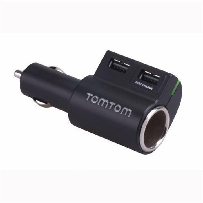 TOMTOM Chargeur Multi-prises Haute Vitesse (9UUC.001.04) Noir