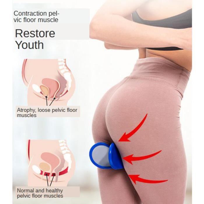 Entraîneur De Hanche Muscle Du Plancher Pelvien Exerciseur Intérieur De La Cuisse Butt Training Blue