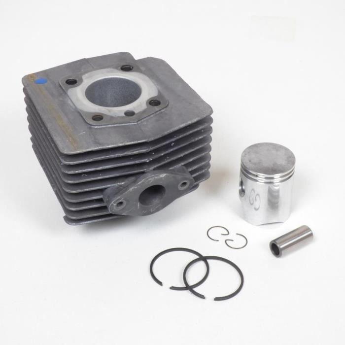 Kit cylindre piston segment axe clip moteur AV10 mobylette MBK 51 50cm3