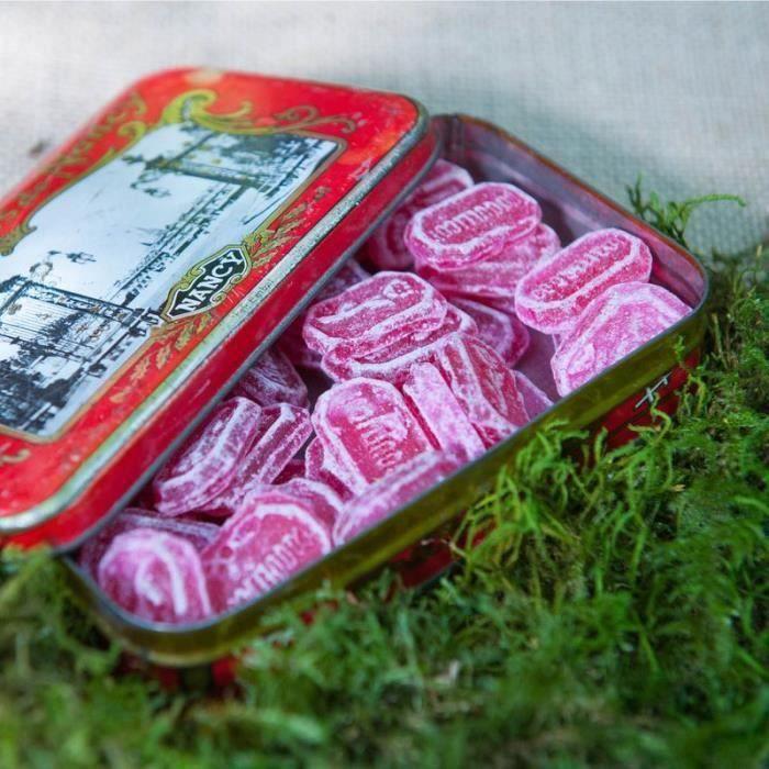 Violette & Berlingot - Bonbon naturel au coquelicot à l'ancienne