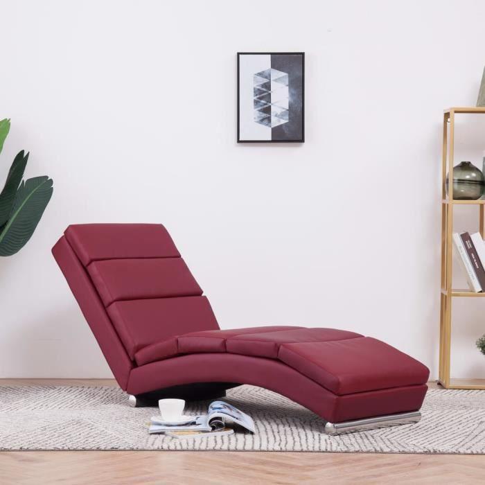 🐮6654Nouveau- Fauteuil de Relaxation Fauteuil de massage Relax Massant - Chaise longue de massage - Chaise longue rembourré ChHome