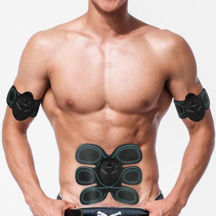 Rn Entraînement Abdominal Muscle ABS Forme d'Exercice Fitness Stimulateur Muscles Abdominaux Formateur Bo16002