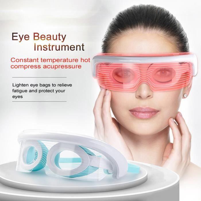 LED beauté instrument de massage des yeux spectromètre compresse chaude instrument de physiothérapie pour les yeux