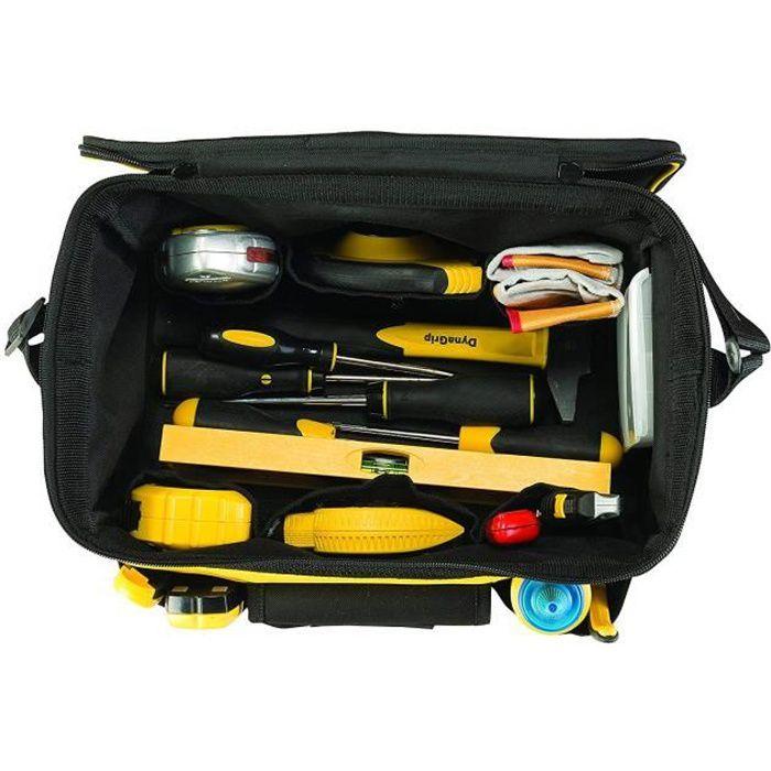 Stanley STST1-73615 Sac à outils 14-, Noir-Jaune