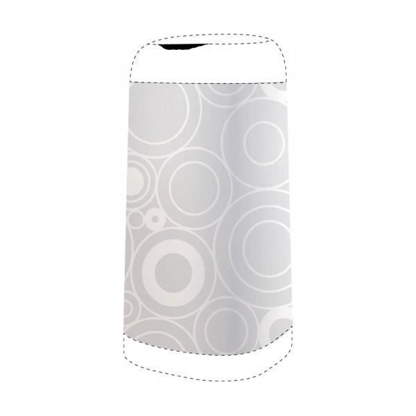 ANGELCARE Housse Décorative pour Bac Dress Up Grey Circles