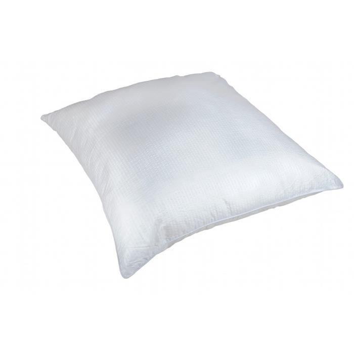 LINANDELLE - Oreiller synthétique ferme anti transpirant - Blanc