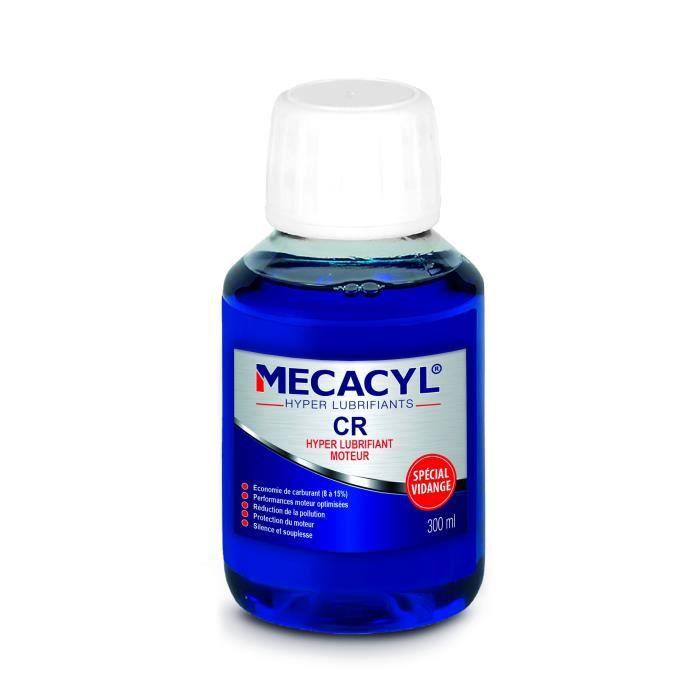 MECACYL CR - Hyper-Lubrifiant - 300 ml - Spécial vidange - Pour moteurs 4 Temps (Essence, Diesel, Hybride, Gaz)