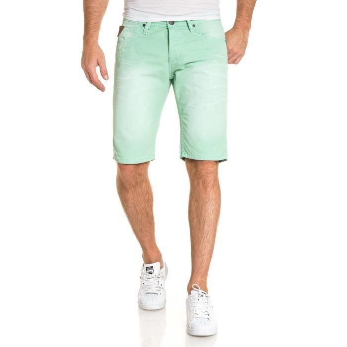 Bermuda Deeluxe Homme Balt vert