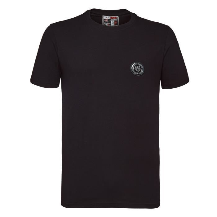 PLEIN SPORT Tshirt - Black - For Men - édition -Thunder- - Référence : MTK2591SJY001N02